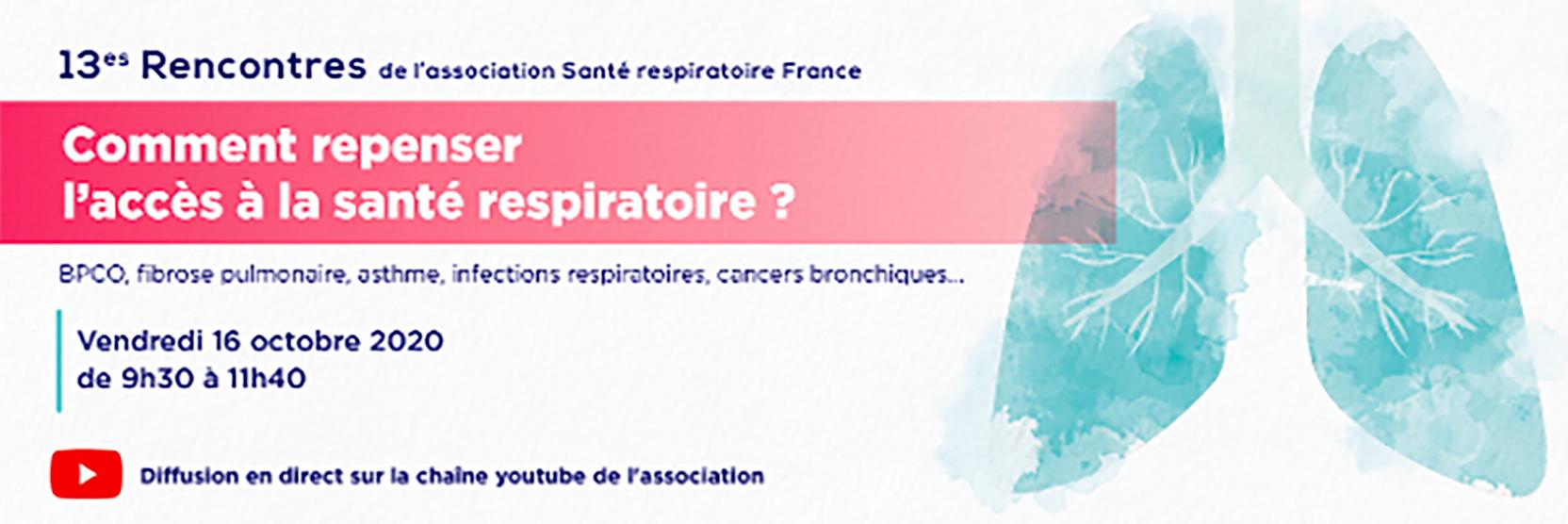 13ème Rencontres de l'association Santé respiratoire France
